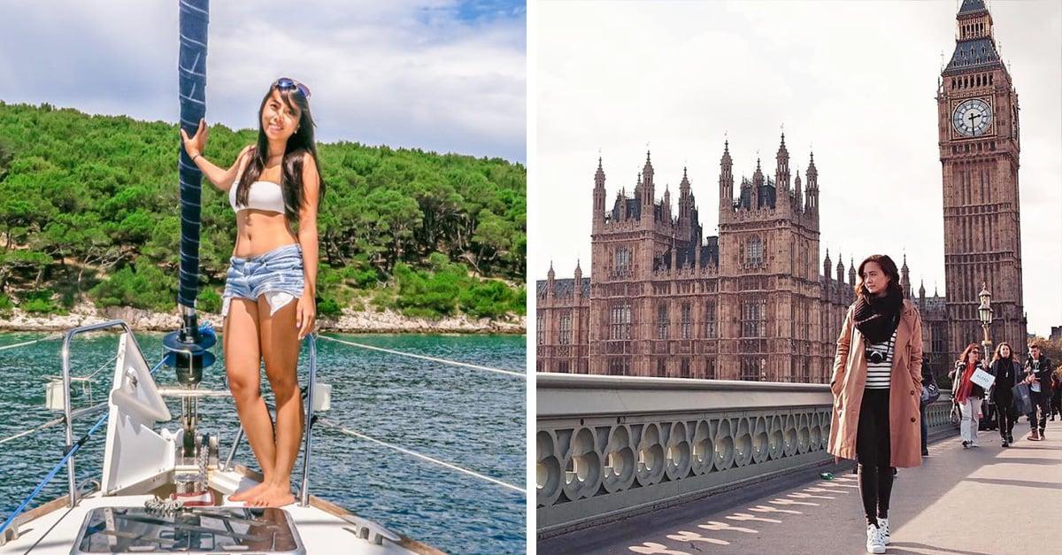 Chica de 24 años gana cerca de 70 mil dólares al mes mientras viaja por el mundo