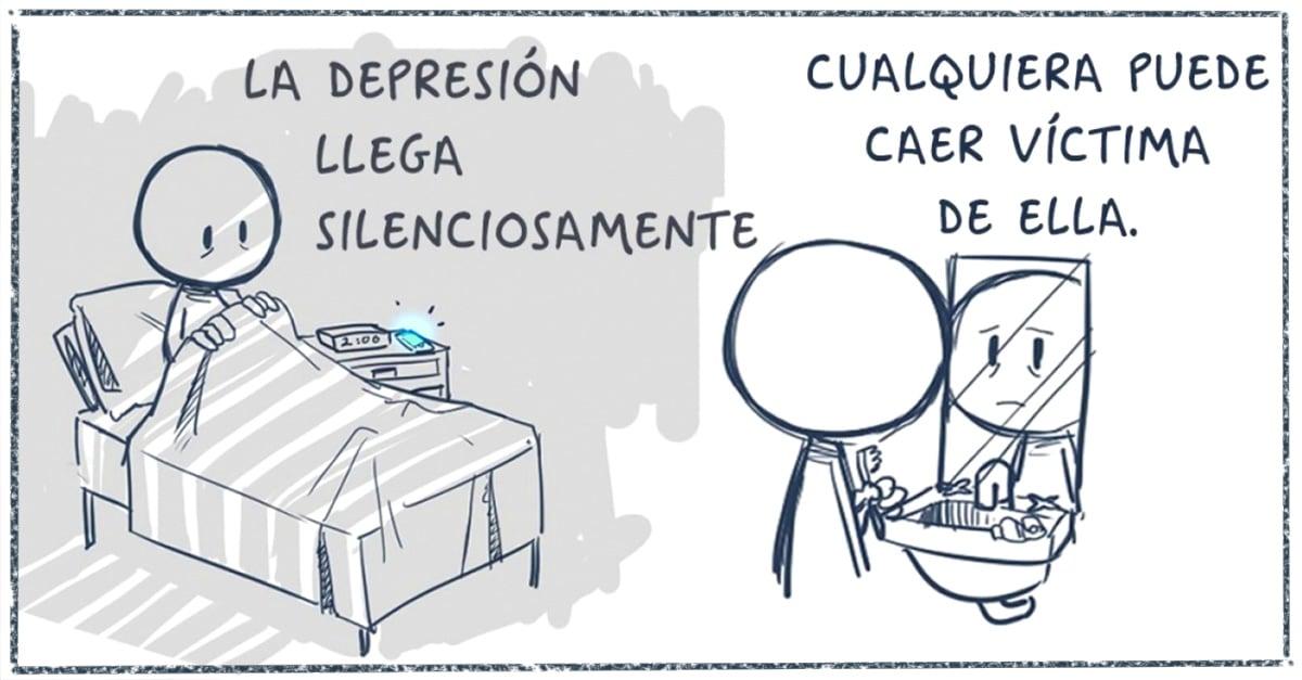 Artista crea un cómic antidepresivo para cuando todo está mal