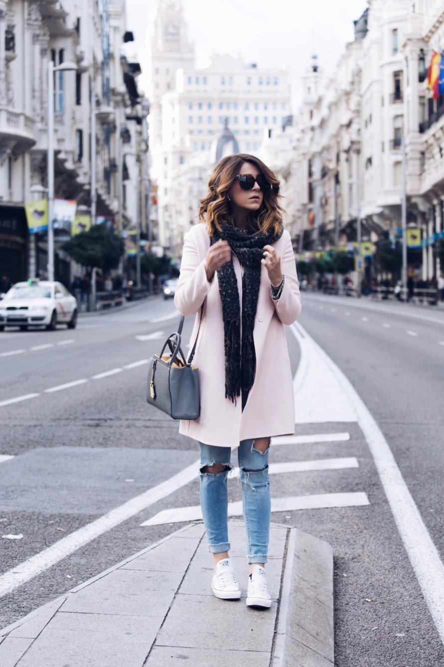 abrigo converse mujer