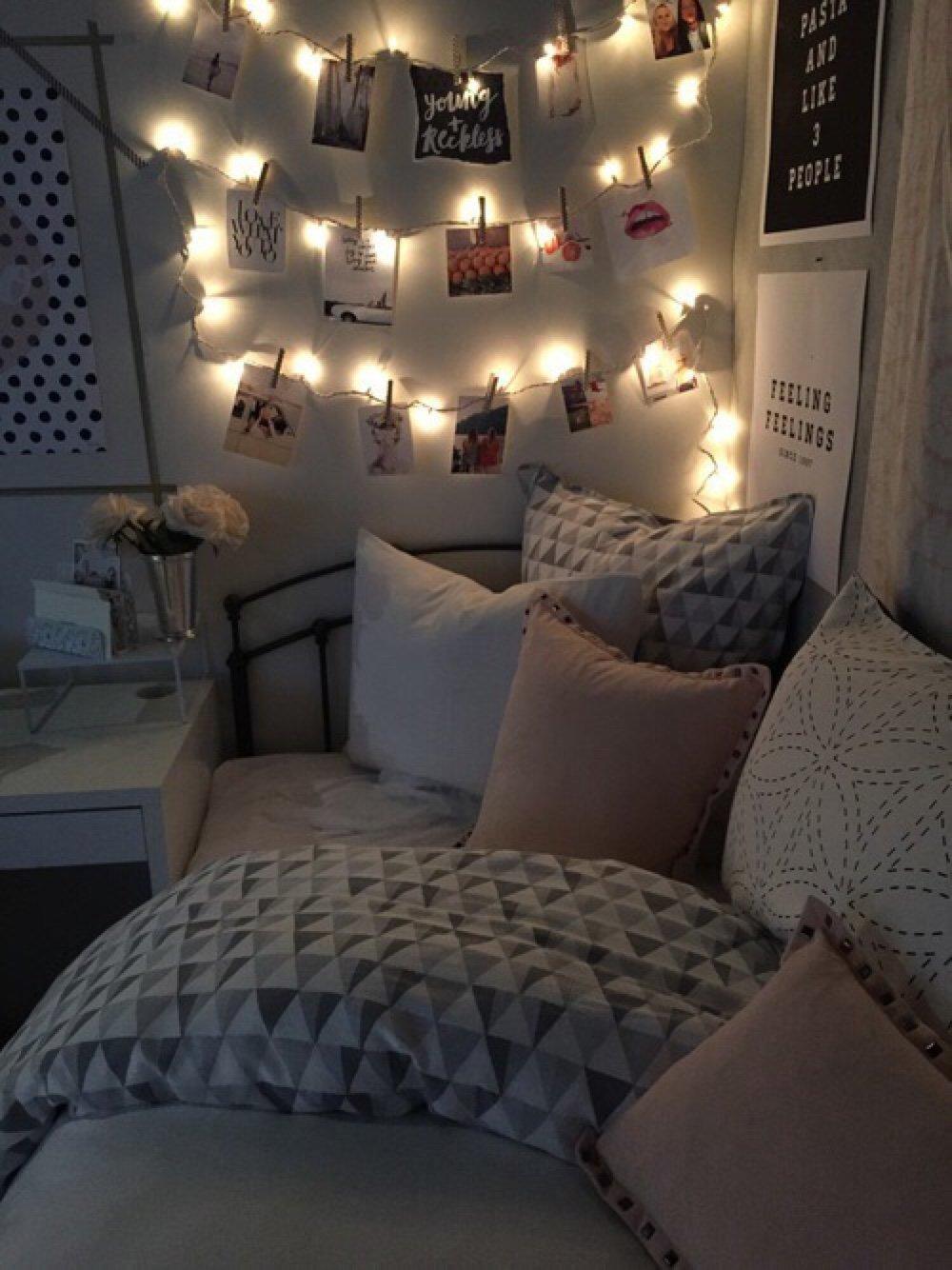 15 secillas ideas para decorar tu habitaci n y sus paredes for Decoracion de piezas