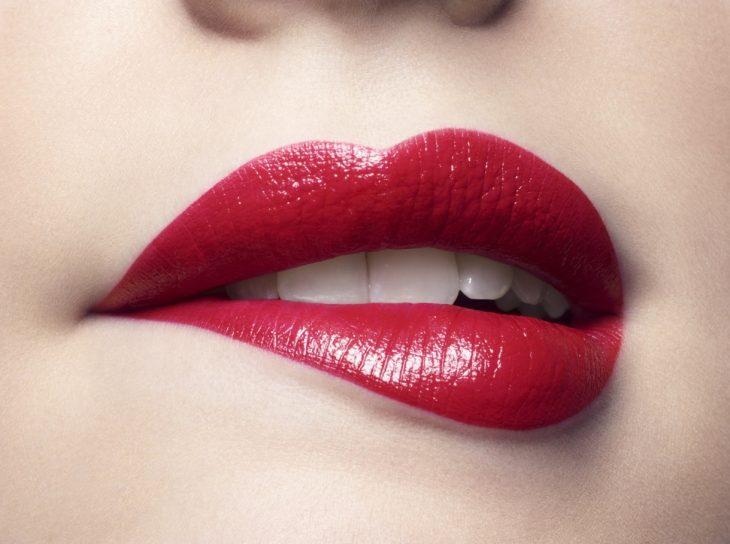 labios rojos