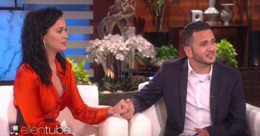 Katy Perry le da una emotiva sorpresa a un sobreviviente del tiroteo en bar gay de Orlando Florida en el programa Ellen DeGeneres