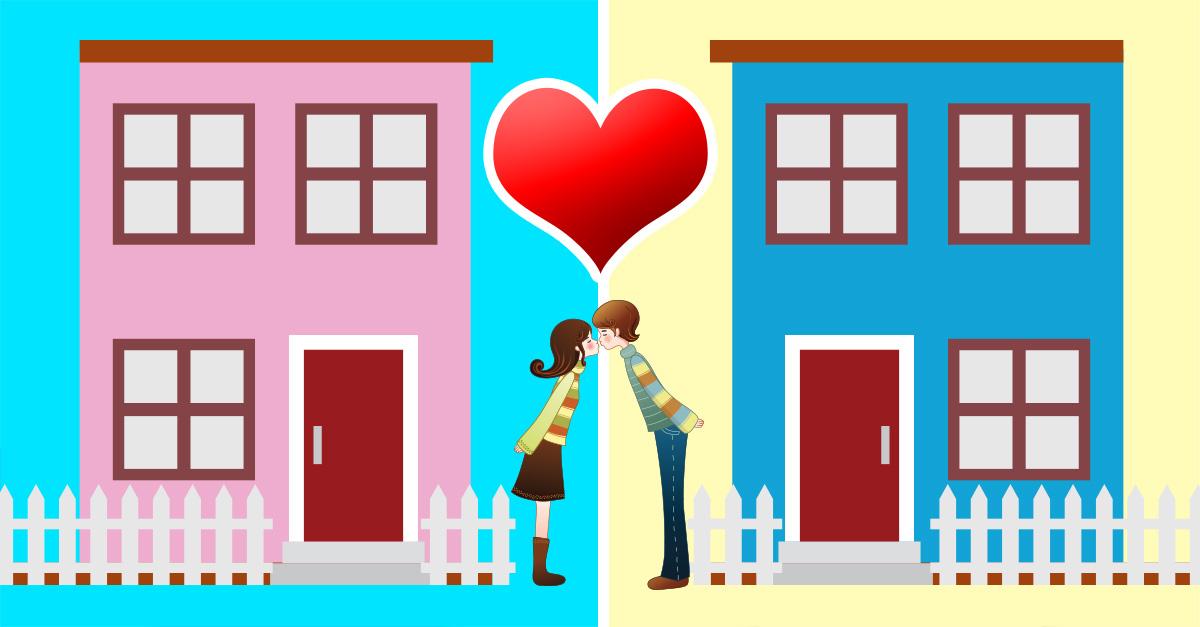 """La nueva tendencia en las relaciones es es vivir """"juntos pero separados"""