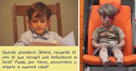 La petición de un niño de 6 años al presidente Obama conmueve al mundo
