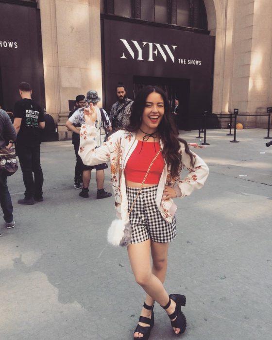 chica en Nueva York