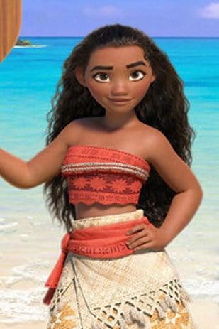 Moana la nueva princesa de Disney con una figura más real