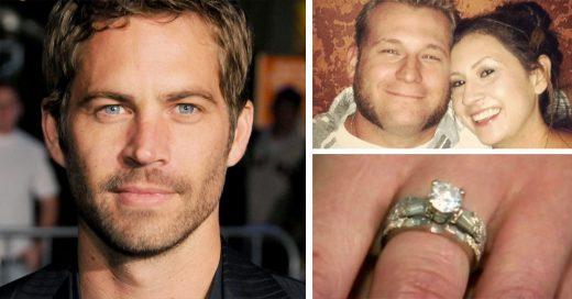 Paul Walker regaló un hermoso anillo de diamantes a una pareja antes de morir