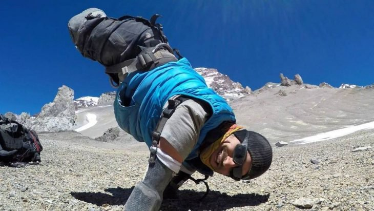 kyle maynard escala Kilimanjaro