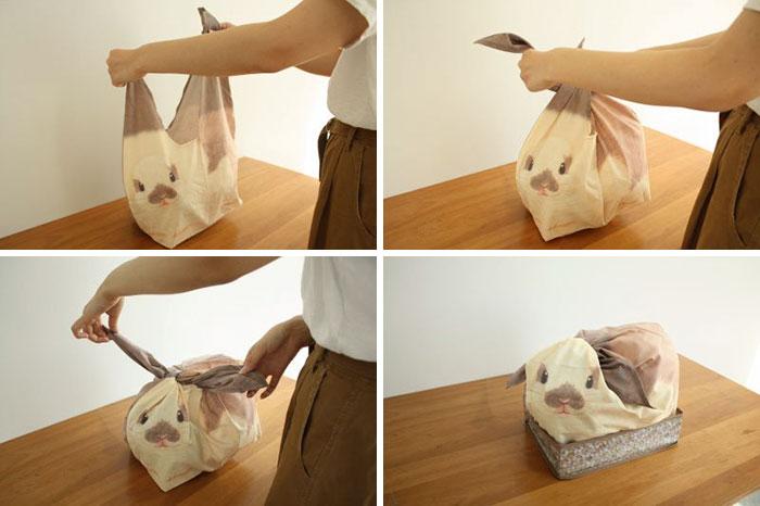 Como cerrar una bolsa de conejito paso a paso