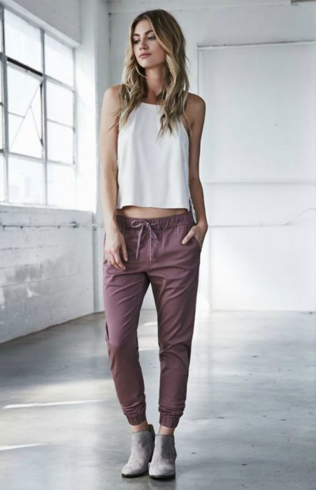 Wear to what with joggers girl