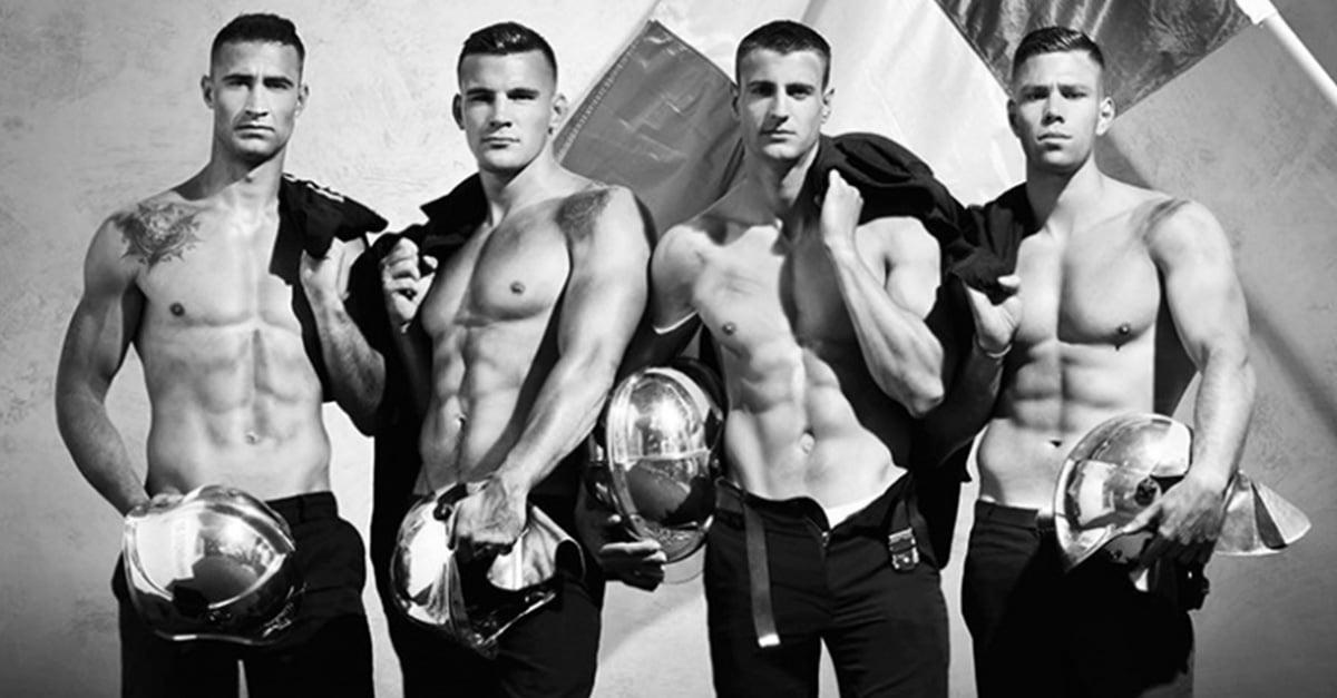 Bomberos franceses lo hacen de nuevo; habrá segunda edición de calendario de bomberos en 2017