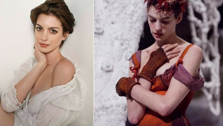 Anne Hathaway se transforma en Los Miserables.