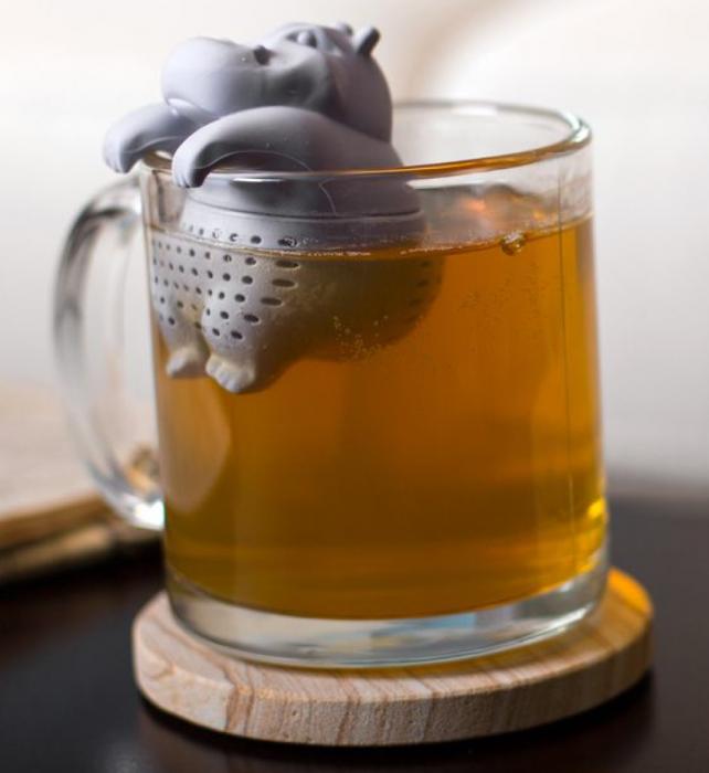 hipopotamo para infusión de té