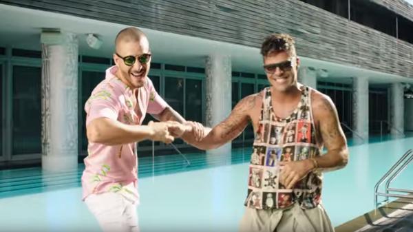 Fotografía del nuevo video de Maluma Y Ricky Martin