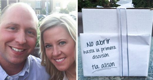 Esta pareja esperó 9 años para abrir un regalo de bodas