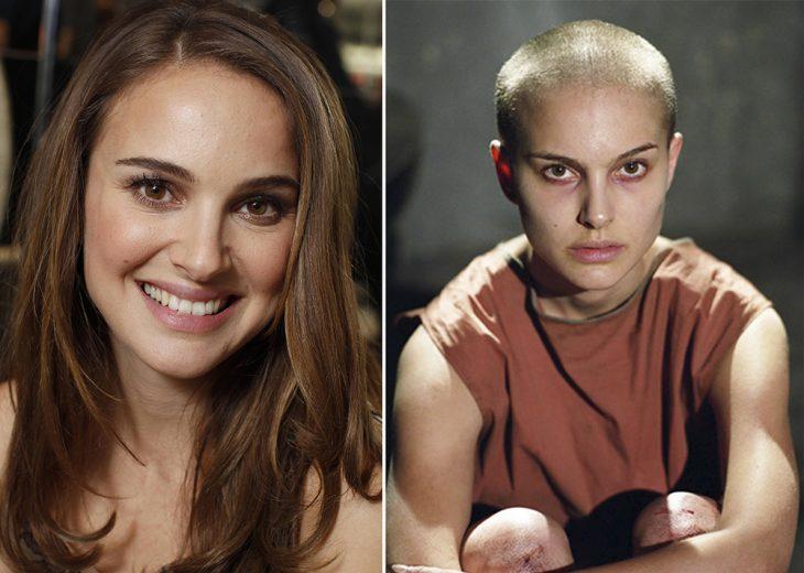 Natalie Portman en la V de Venganza.
