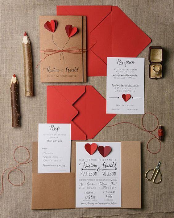 Estas son las invitaciones de boda m s originales - Bodas sencillas pero bonitas ...