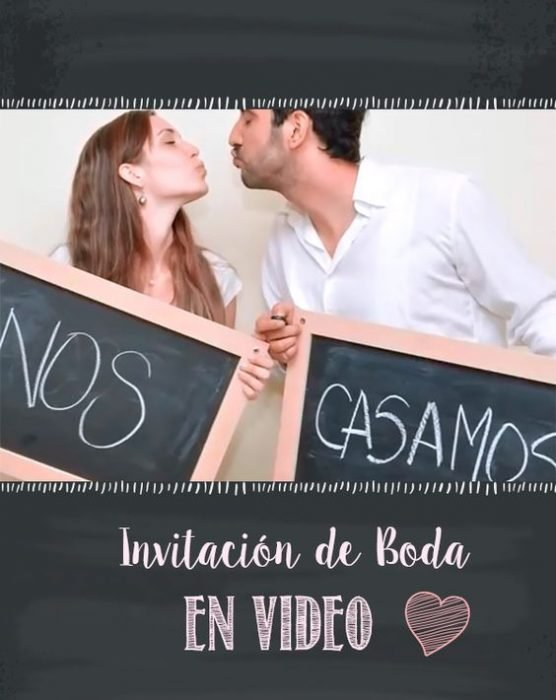 Invitación en video.