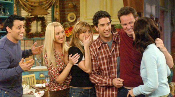 Fotografía de la serie Friends.