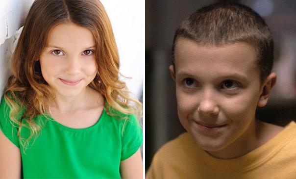 Millie Bobby como Eleven.