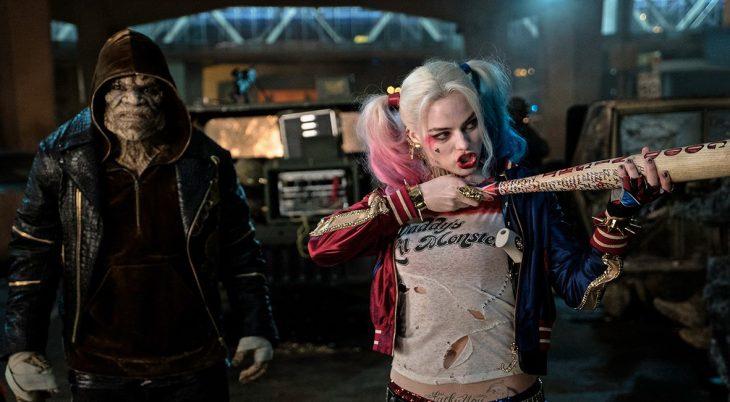 Harley cuando anda con el escuadrón.