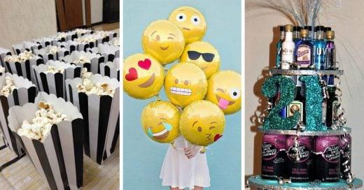 20 detalles que no te pueden faltar en tu fiesta de 21 años