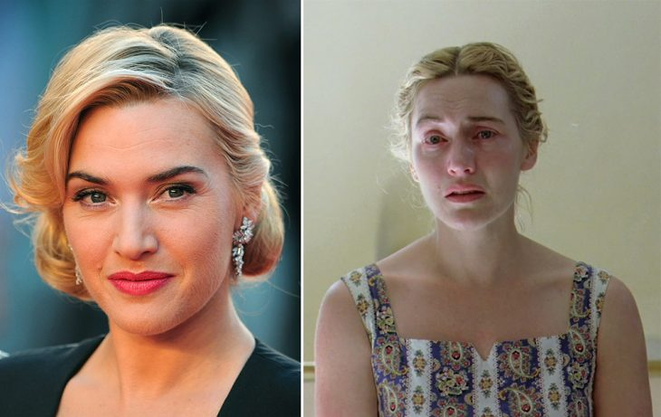 Kate Winslet es Hanna Schmitz.