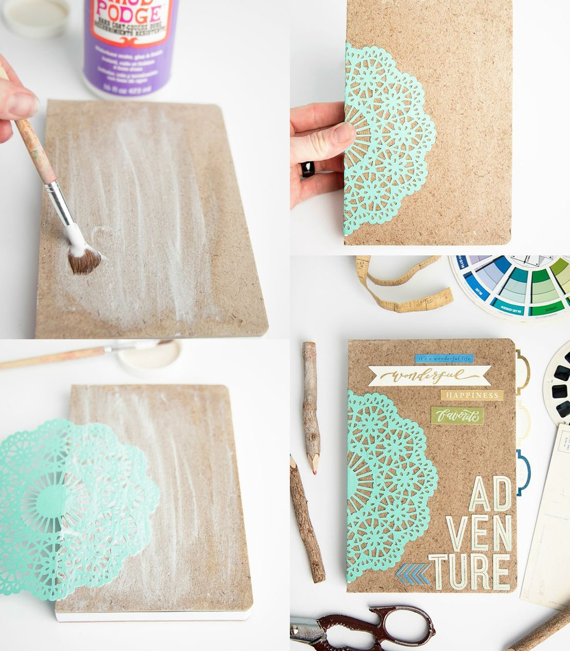 15 ideas super originales para decorar tus libretas for Todo ideas originales para decorar