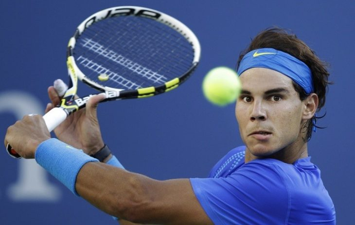 Jugador de tenis.