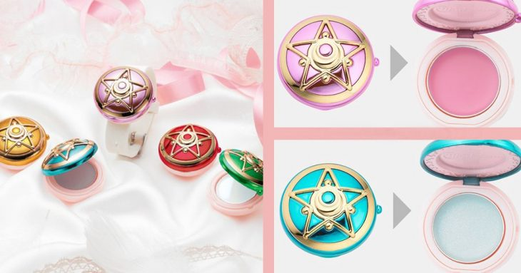 cosmeticos de sailor moon balsamo de colores