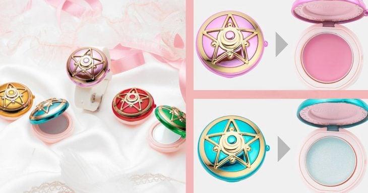 cosmeticos de sailor moon balsamo de colores
