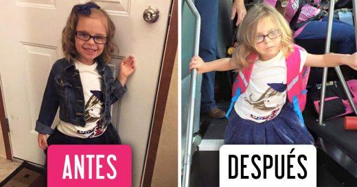 Las fotografías antes y después de del primer día de clases que todos entenderemos