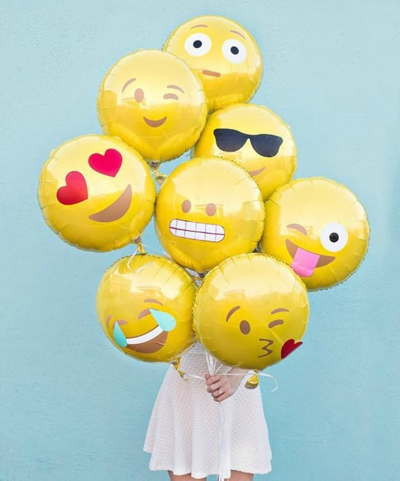 globos de emoticons