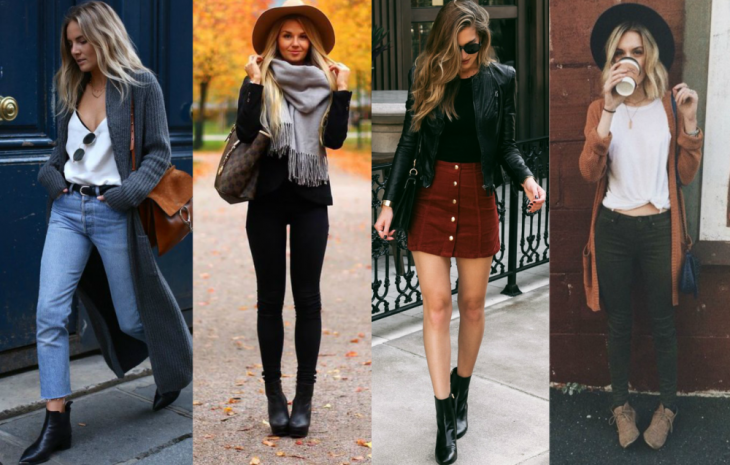 4 tipos de looks para otoño