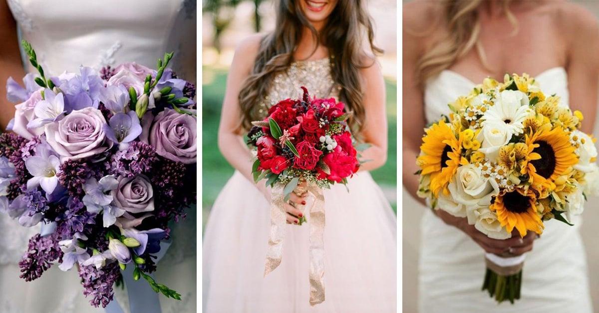 ¿Conoces el significado del color del ramo de novia? Aquí te lo decimos
