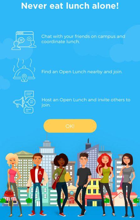 Captura de pantalla de la aplicación.