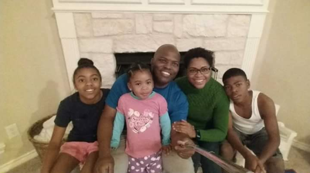 Familia completa.