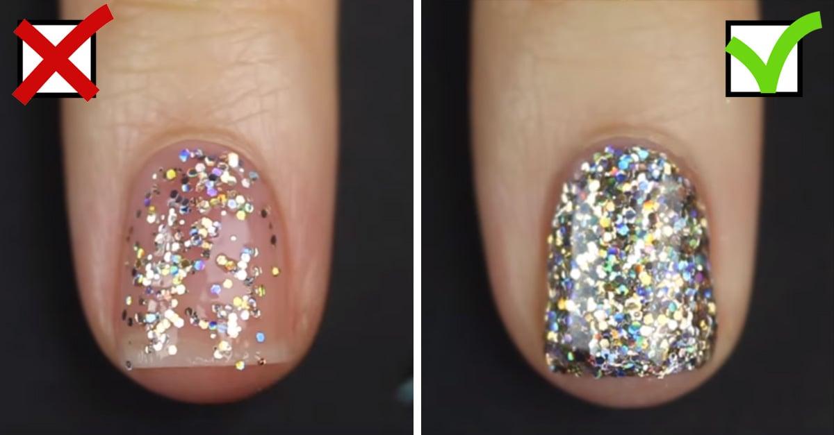 Lucir unas uñas brillantes y de tentación podría ser más sencillo de lo que imaginas