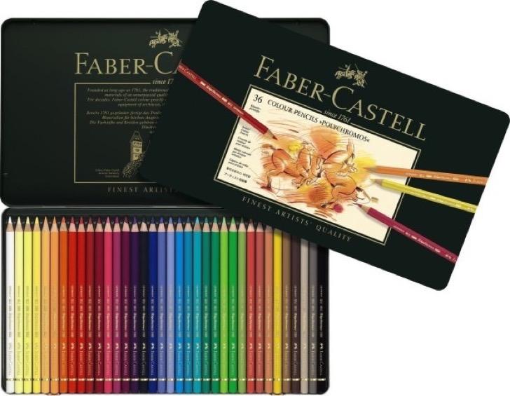 Colores de Faber Castell.