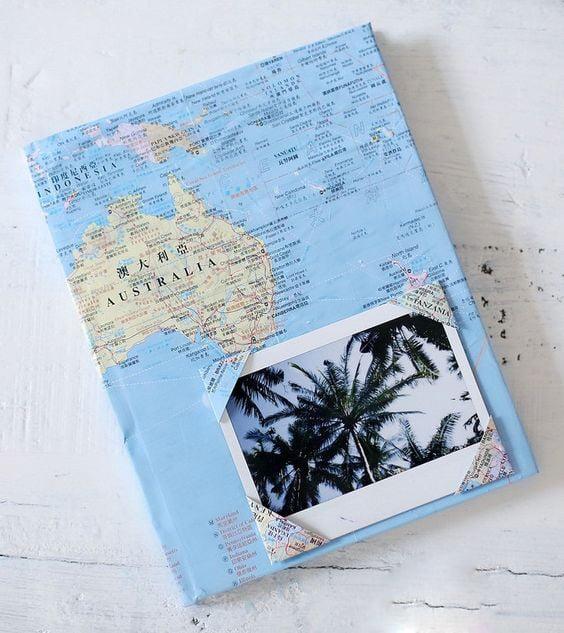 Libreta de viajes.