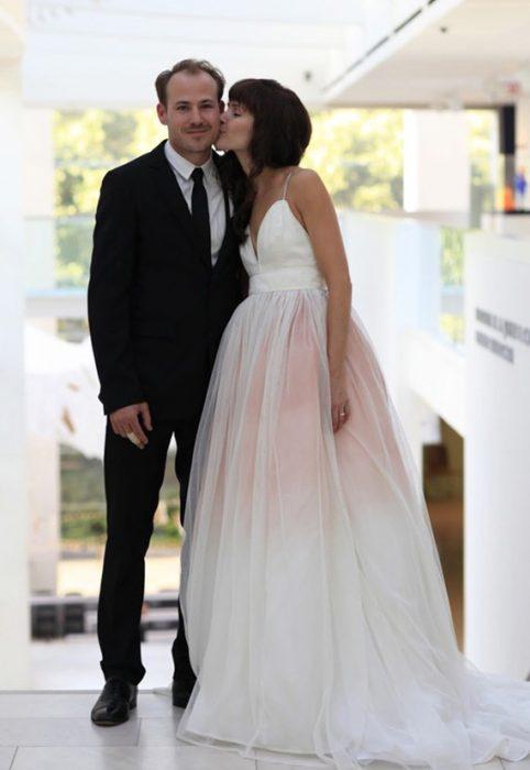 pareja recién casados