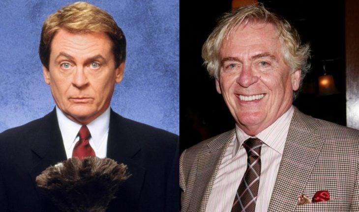 hombre rubio con corbata antes y después