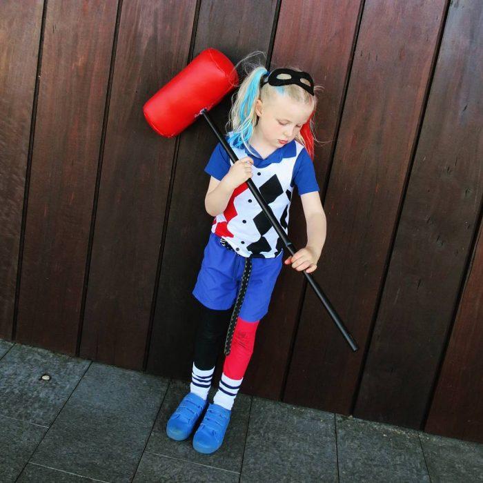 Disfraz de Harley Quinn.