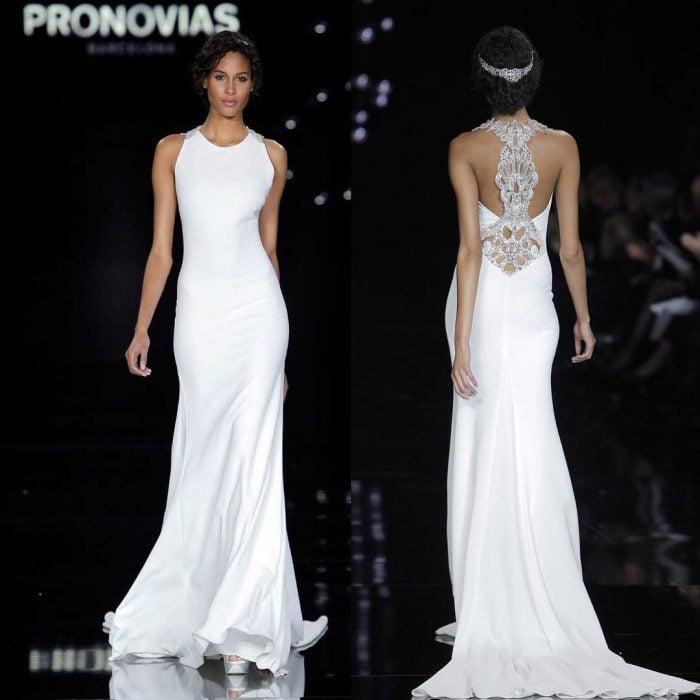 Colección de vestidos de novias de Pronovias.