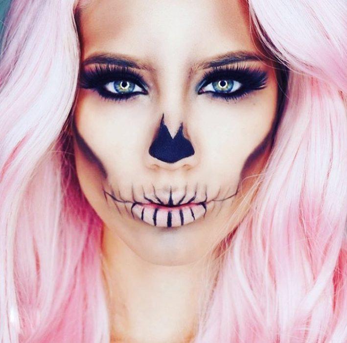 Maquillaje de Catrina.