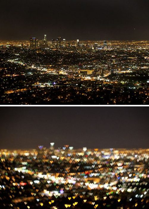 foto de paisaje nocturno