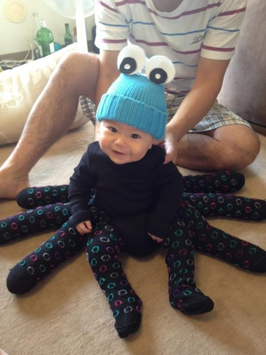 disguised baby octopus