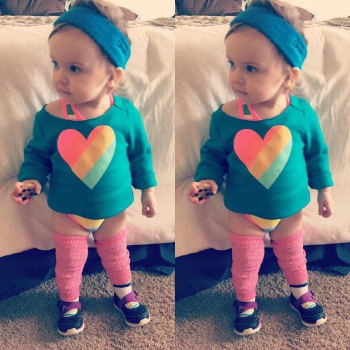 baby gymnast disfrzada 80