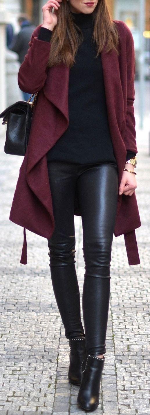 outfit otono invierno 2016 mujer