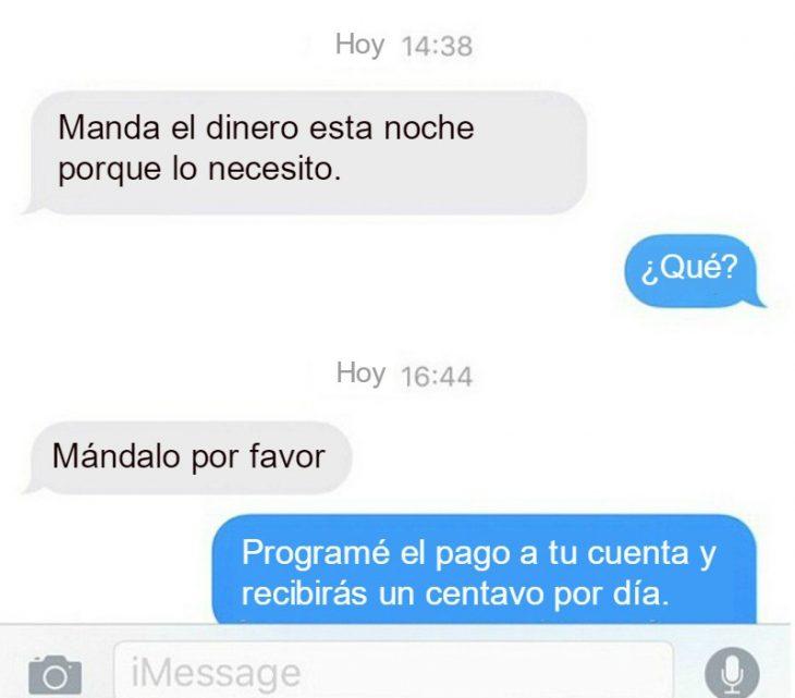 conversacion captura de pantalla